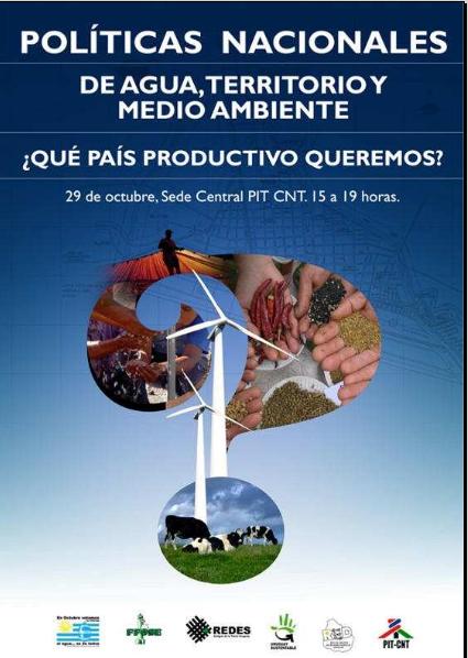 Afiche Octubre Azul 2009